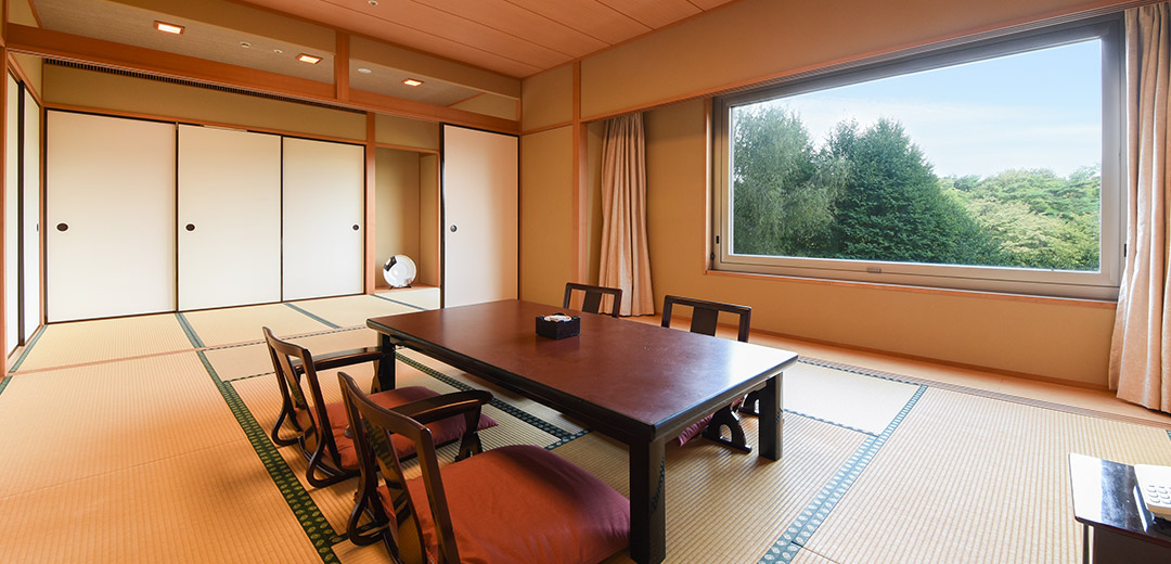 Traditional Japanese-style room image