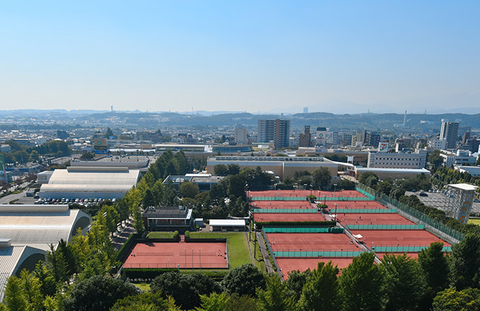 Showa-no-Mori Tennis Center
